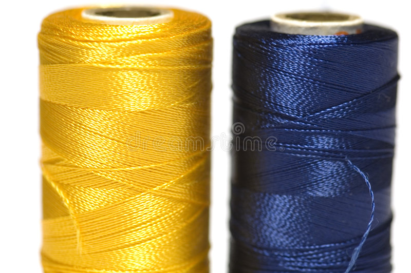 Spool of thread Macro royalty free stock images