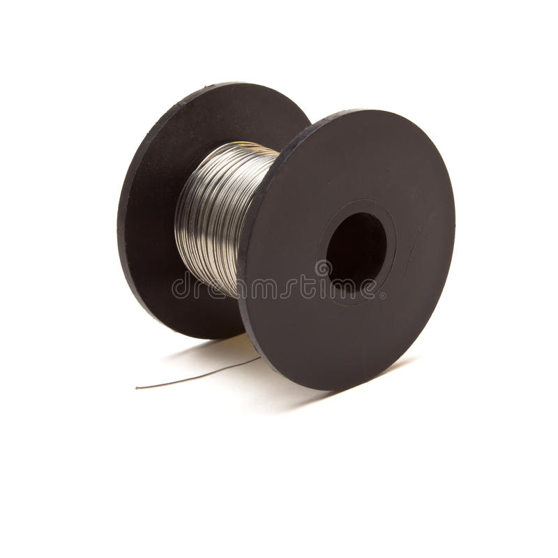 Download Spool of Wire stock photo. Image of industrial, electrical - 14592378