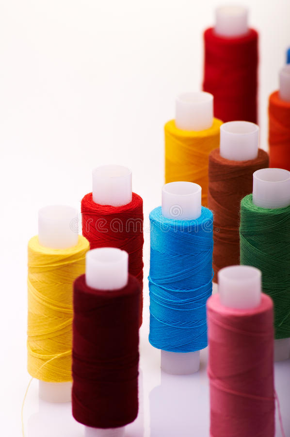 Download Spools Of Threads Stock Photo - Image: 20940950