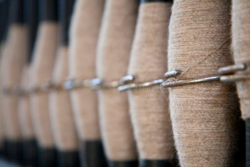 Download Spools of wool stock image. Image of pattern, macro, line - 21843325