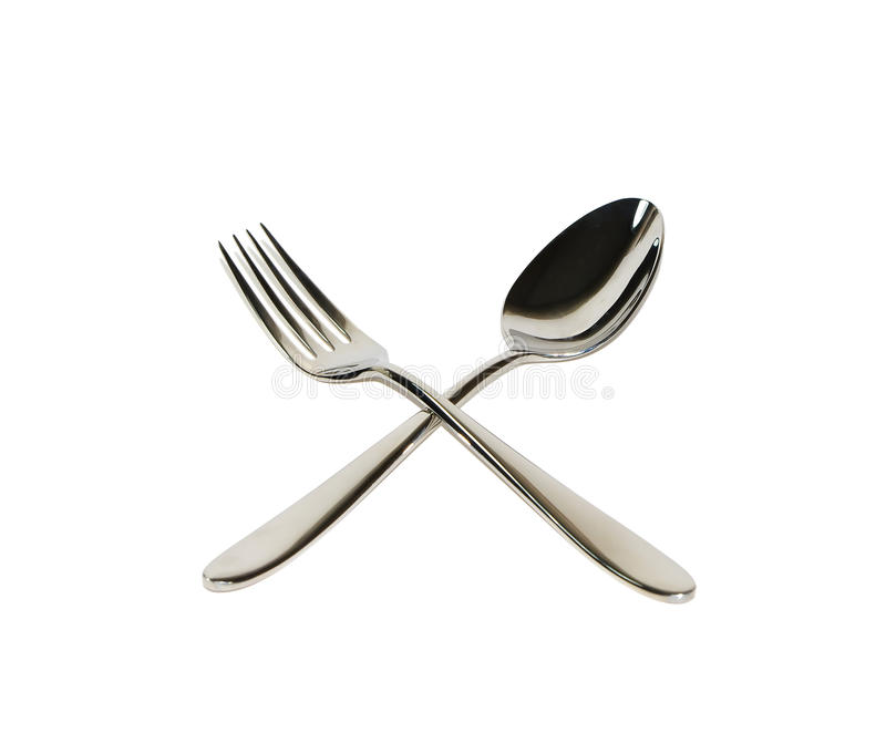 Download Spoon and fork stock photo. Image of business, diet, object - 14575646