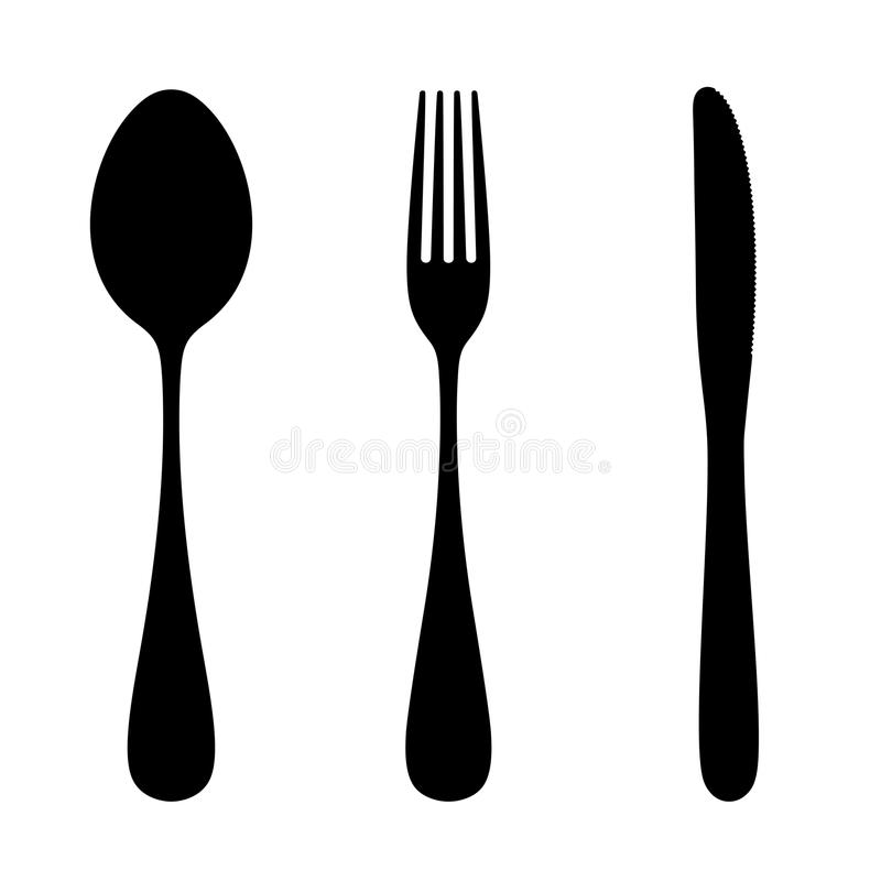 Free Spoon, Fork And Knife. Stock Photos - 32749593