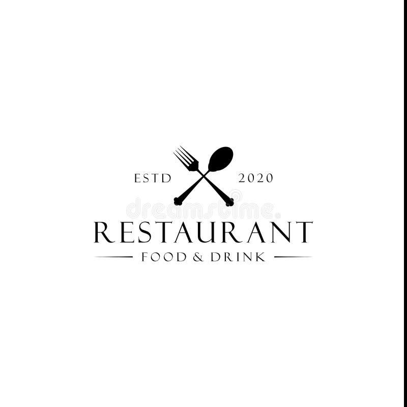 Spoon And Fork Restaurant Logo Vector Stock Vector ...