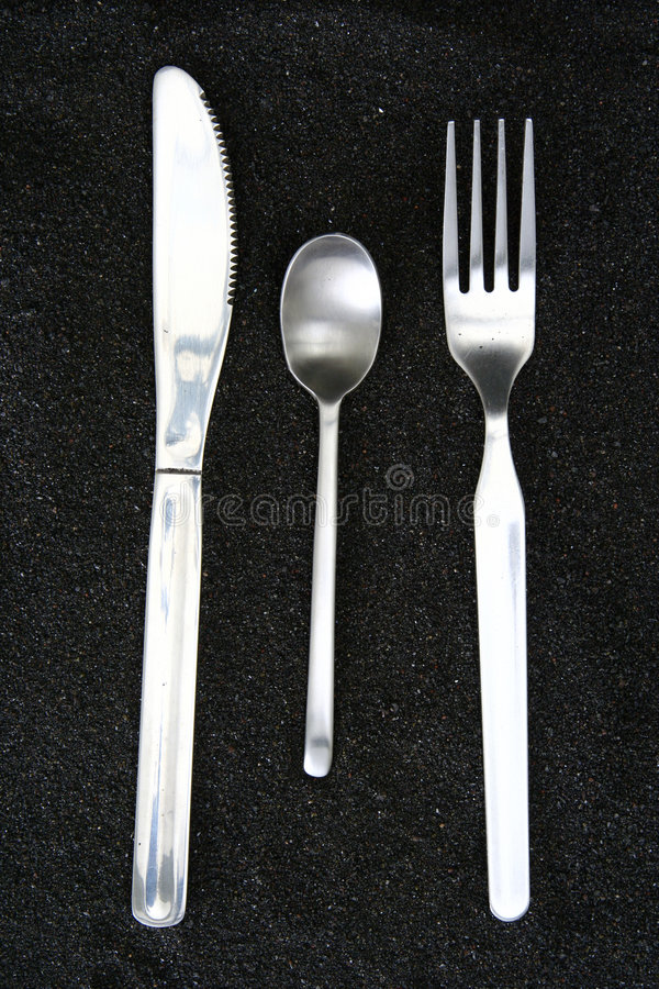 Free Spoon, Knife And Fork Royalty Free Stock Image - 3661556