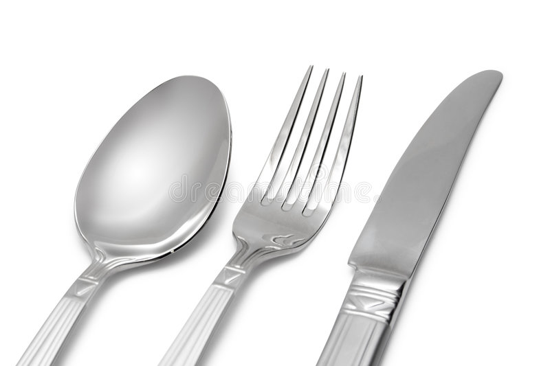 Download Spoon, Knife, Fork Royalty Free Stock Photos - Image: 1887618