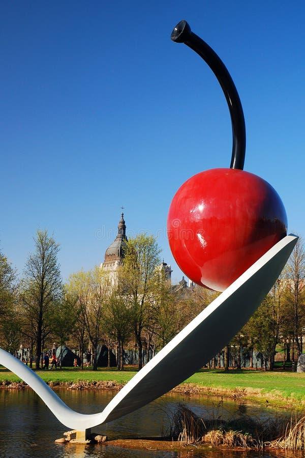 Spoonbridge and Cherry, Minneapolis royalty free stock photography