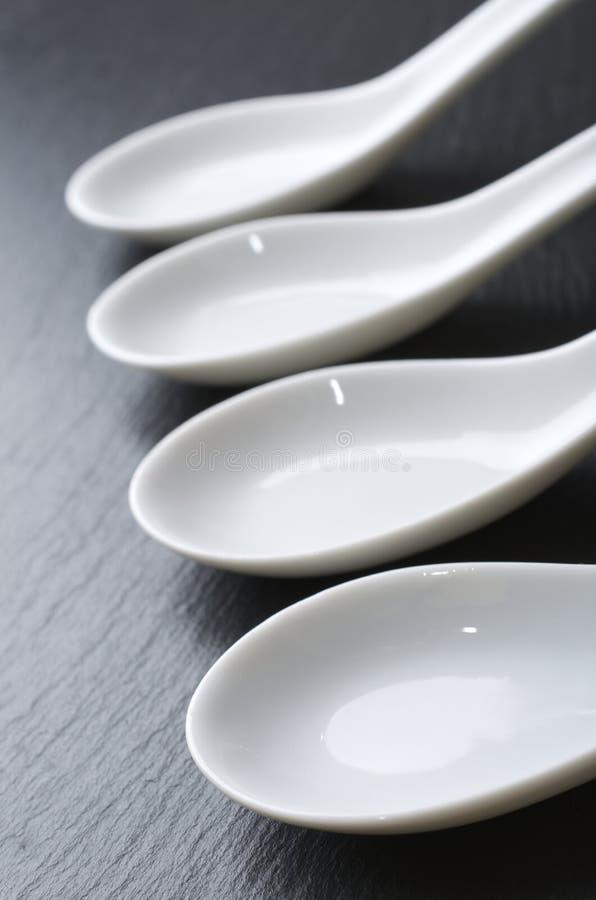 Download Spoons stock image. Image of slate, earthenware, object - 21376233
