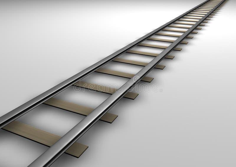 Spoor vector illustratie