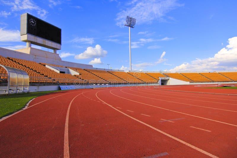 Spoor & stadion royalty-vrije stock afbeeldingen