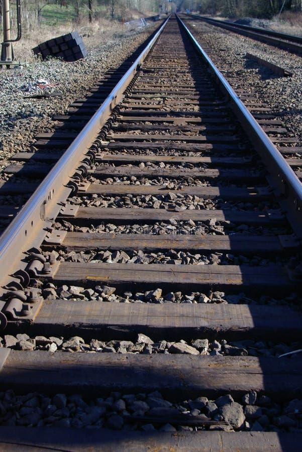Spoor van de spoorweg 2 royalty-vrije stock fotografie