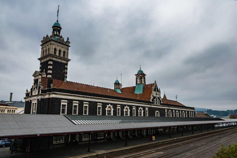 Spoorwegen in Nieuw Zeeland royalty-vrije stock afbeeldingen
