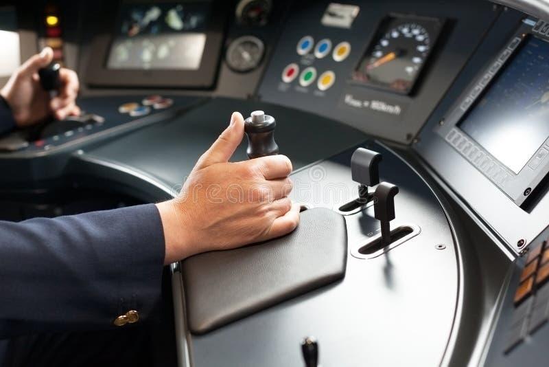 Download Spoorwegingenieur stock afbeelding. Afbeelding bestaande uit cabine - 54081369