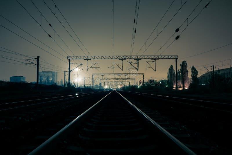 Spoorwegvervoer royalty-vrije stock foto's