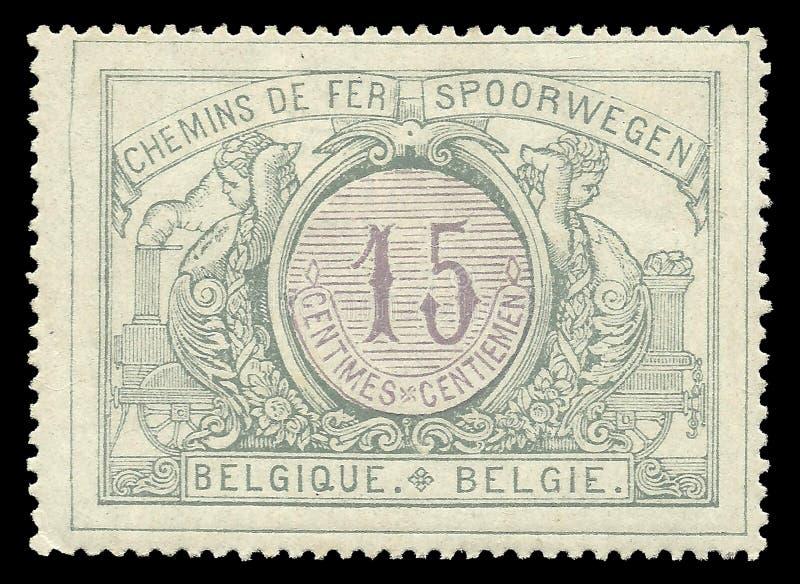 Spoorwegzegel stock afbeelding