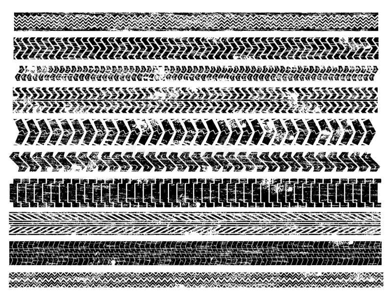 Sporen vector illustratie