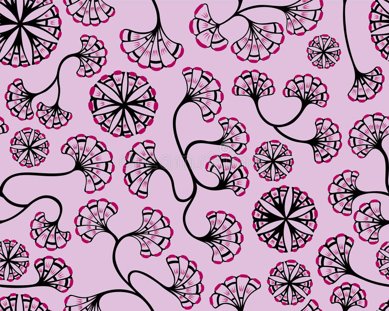 Spores Fantasy Pattern1 stock image