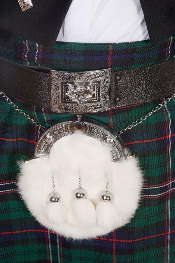 Sporran écossais photos stock