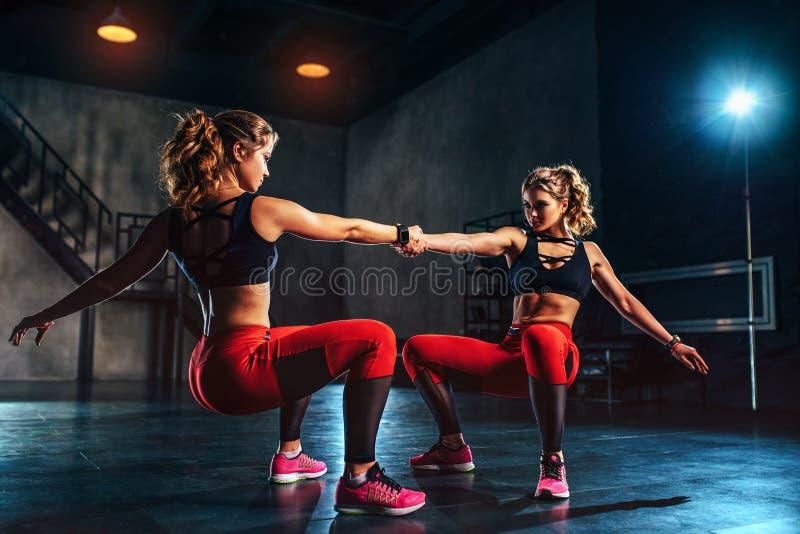 Sportów bliźniaków drużyna zdjęcie stock