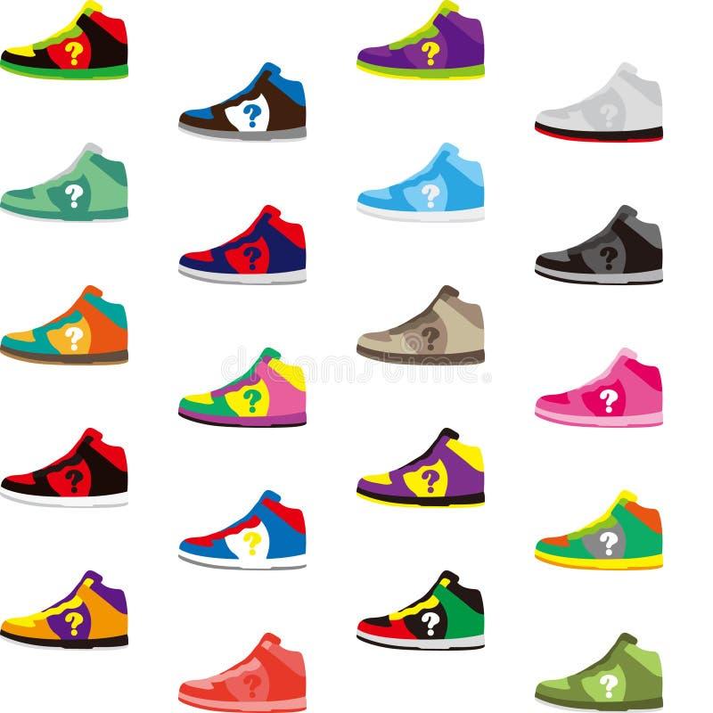 Sportów buty ilustracja wektor