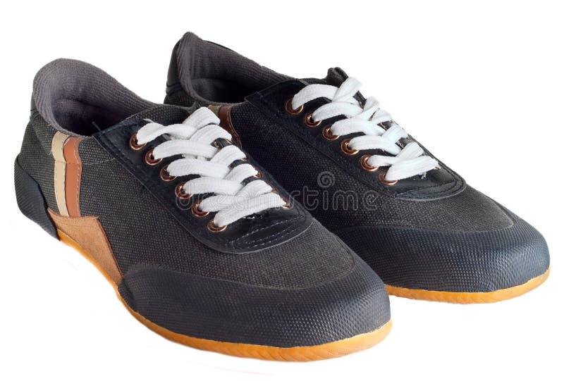 Sportów buty odizolowywający obrazy stock