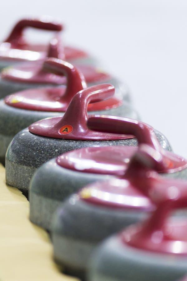 Sportów pojęcia i pomysły Zbliżenie fryzowanie rękojeści Czerwoni kamienie zdjęcia royalty free