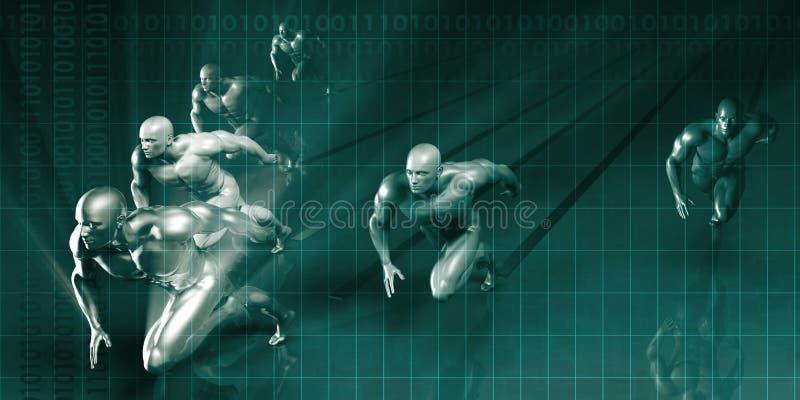 Sportów Wprowadzać na rynek ilustracji