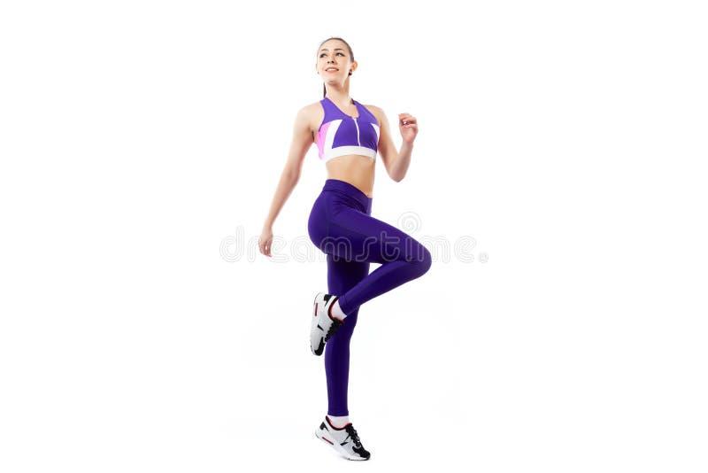 Sportövningar för kvinnor royaltyfri fotografi