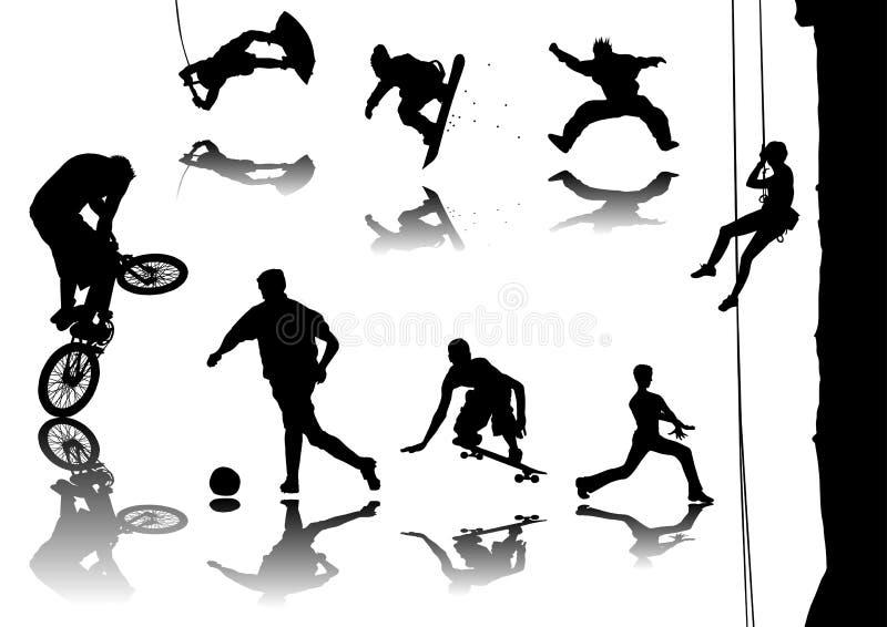 Sport illustrazione di stock
