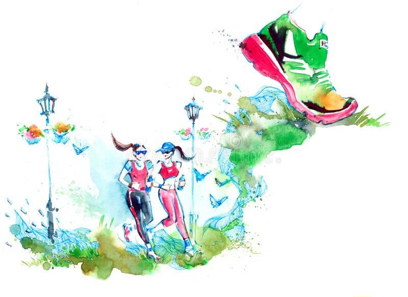 Sport stock illustratie