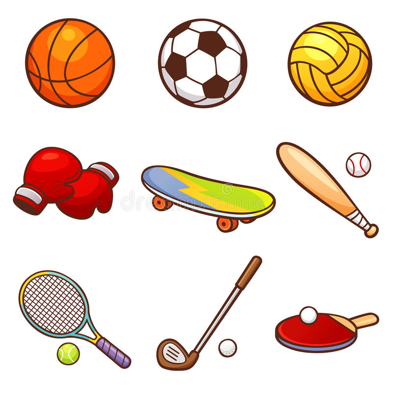 sport illustration stock