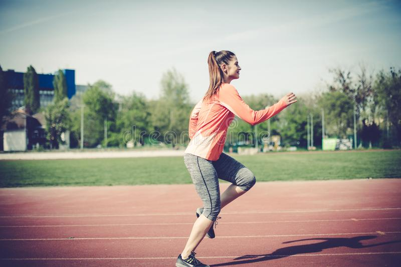 Sport activity is important part of your life. royalty free stock photo