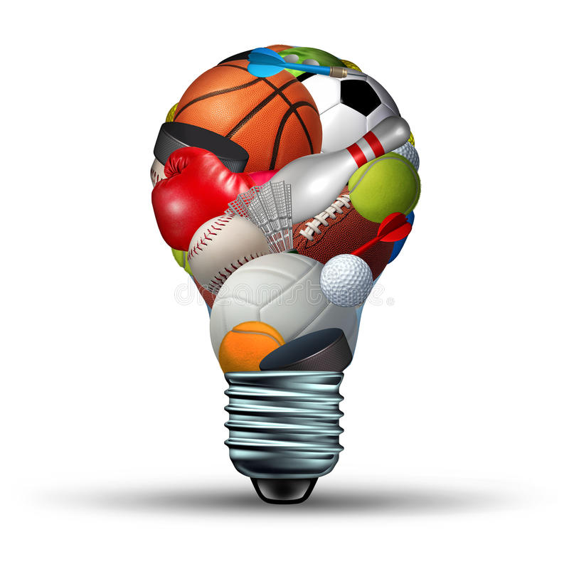 Sport aktywności pomysły ilustracji