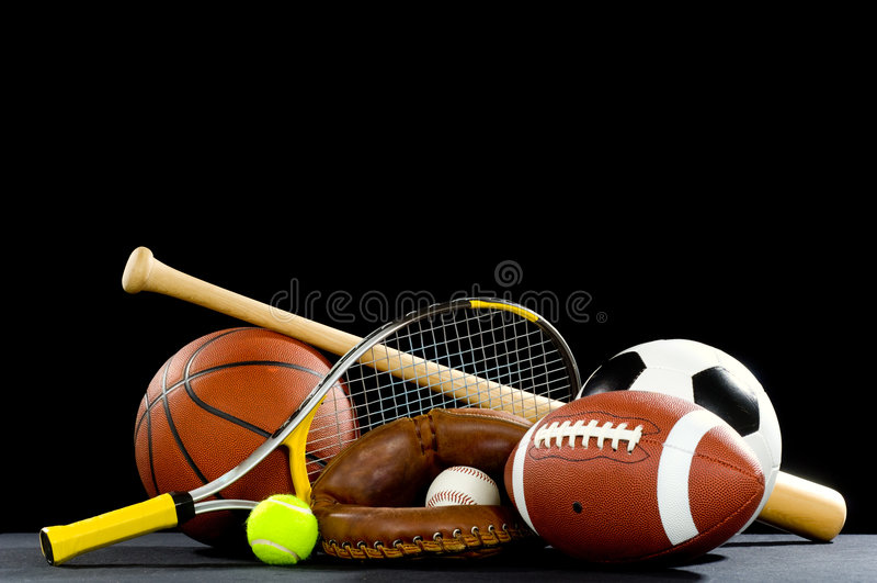 Sport-Ausrüstung stockbilder