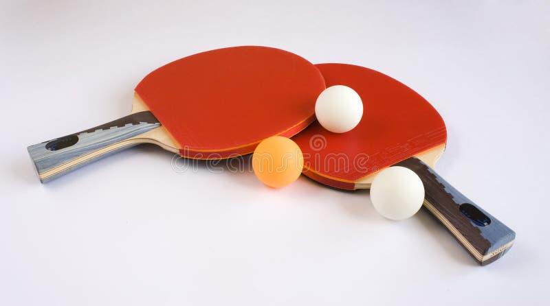 Sport-Ausrüstung für Tischtennis lizenzfreies stockfoto