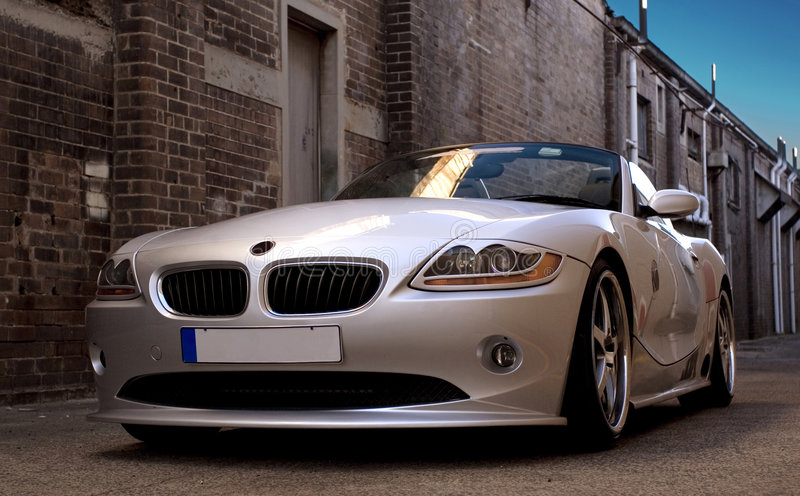 Sport-Auto stockbild