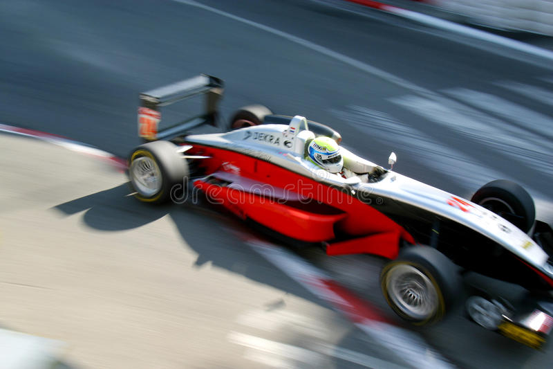 Sport-Auto, Formel-Auto (EuroF3) stockbild