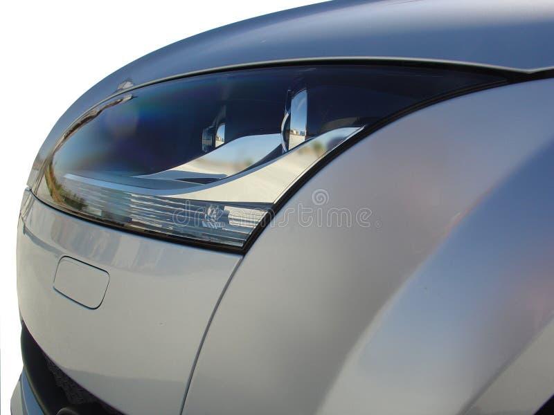 Sport-Auto (vorderes Lampendetail) lizenzfreies stockfoto