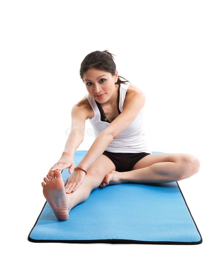 sport azjatykcia kobieta zdjęcie royalty free