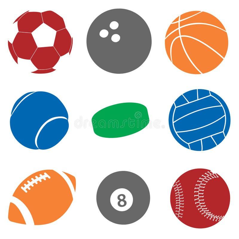 Download Sport Balls stock vector. Illustration of action, symbol - 10322165