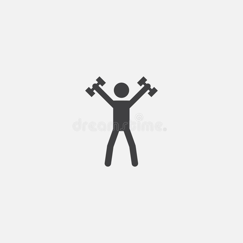 Sport base icon. Simple sign royalty free illustration