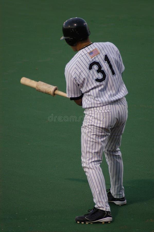 Sport: Baseballpraxis lizenzfreie stockbilder