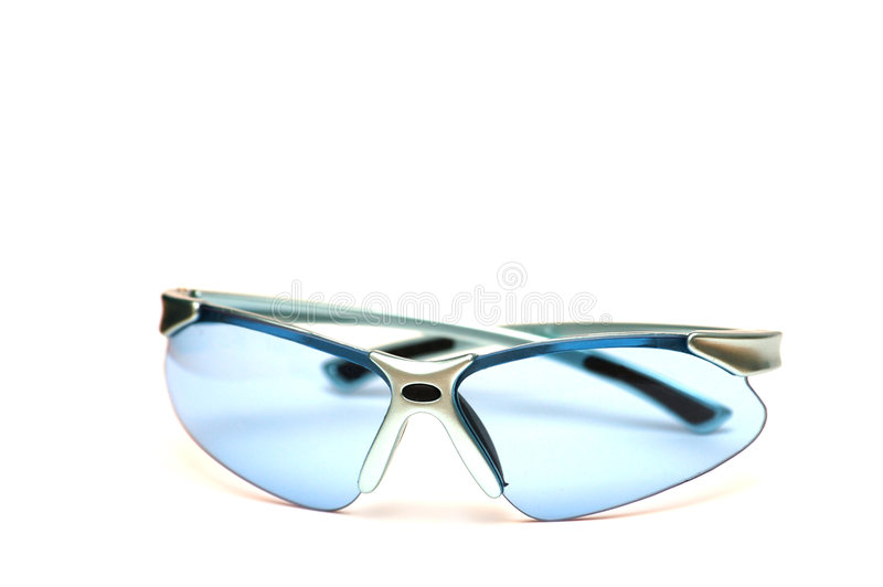 Sport bicycle sun glasses stock photo