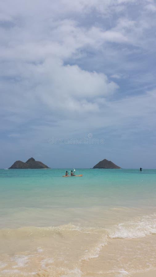 Sport bij het strand stock fotografie