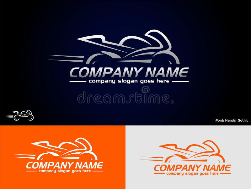 Sport bike logo. Please look at my other logos (icons