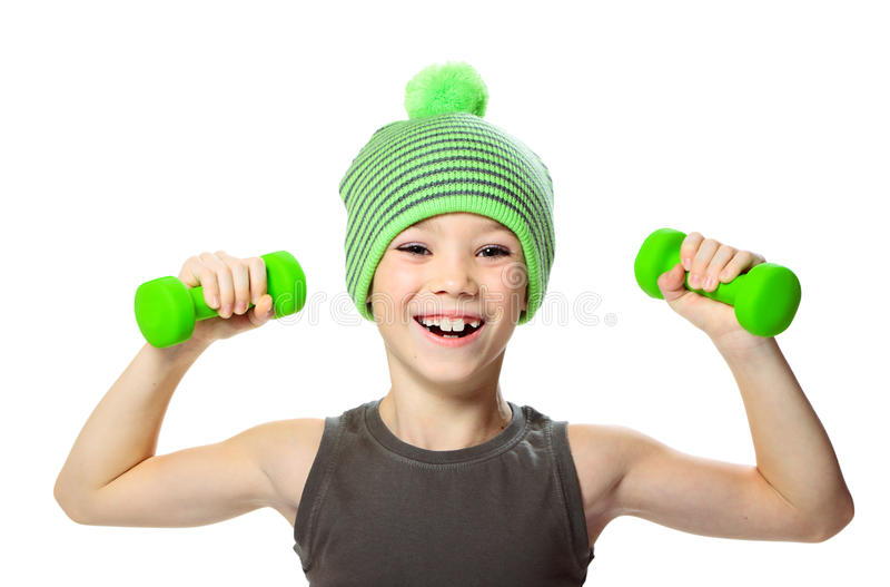 Sport boy royalty free stock image