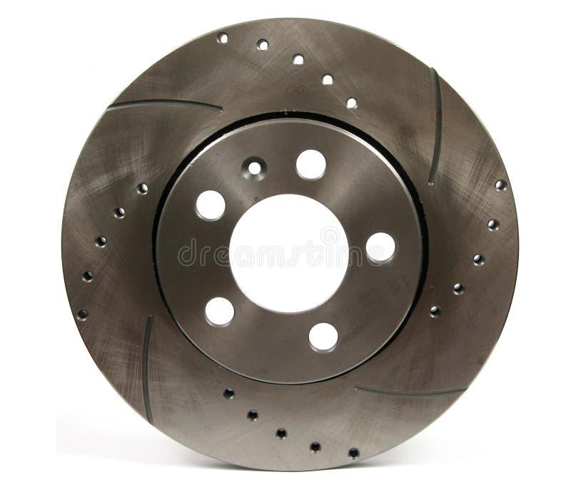 Sport Brake disc. Close-up shot of a sport brake disc royalty free stock image