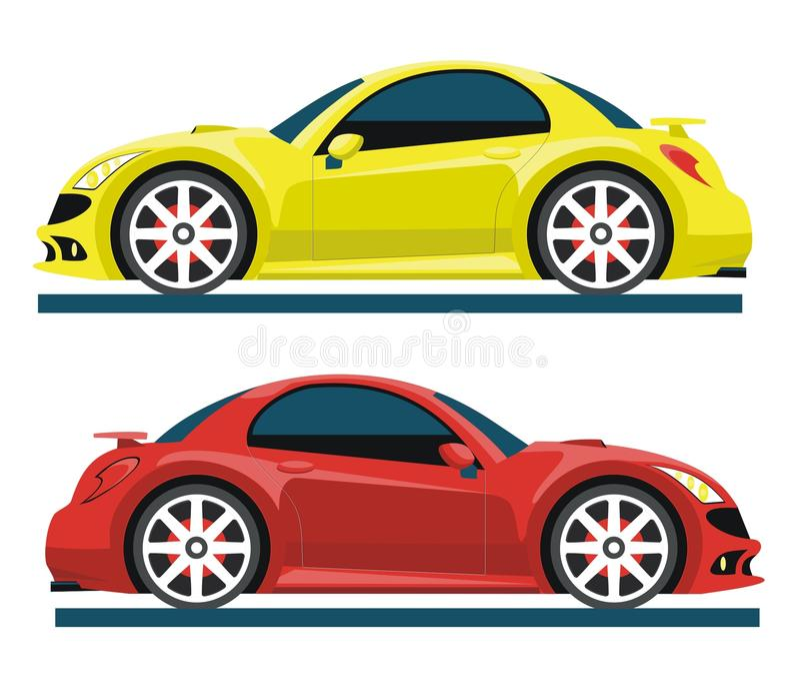 Sport car illustration libre de droits