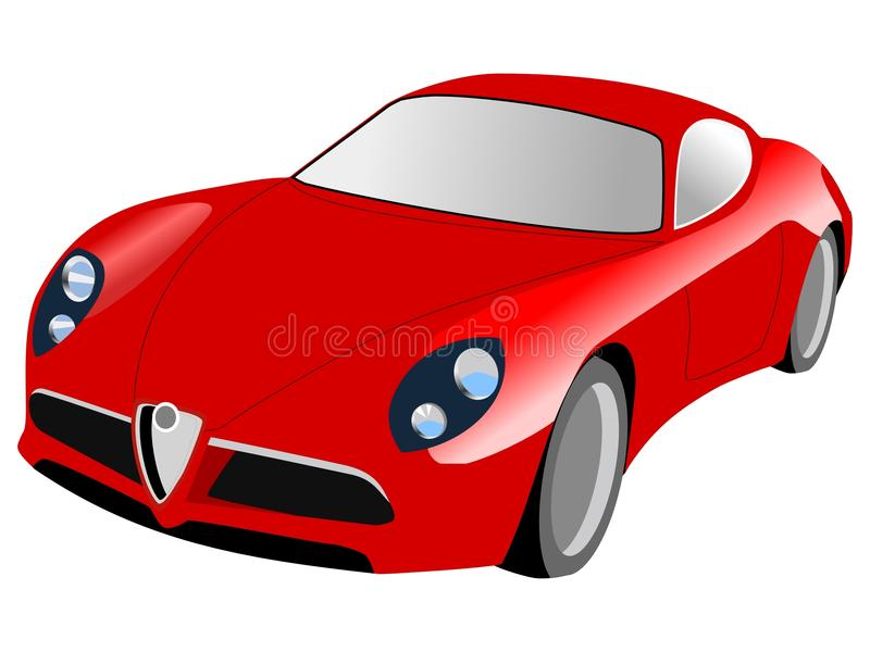 Download Sport car stock vector. Image of vector, race, design - 14479132