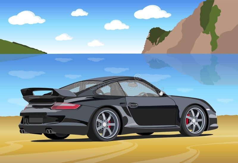 Download Sport car editorial stock image. Image of landscape, color - 16969989