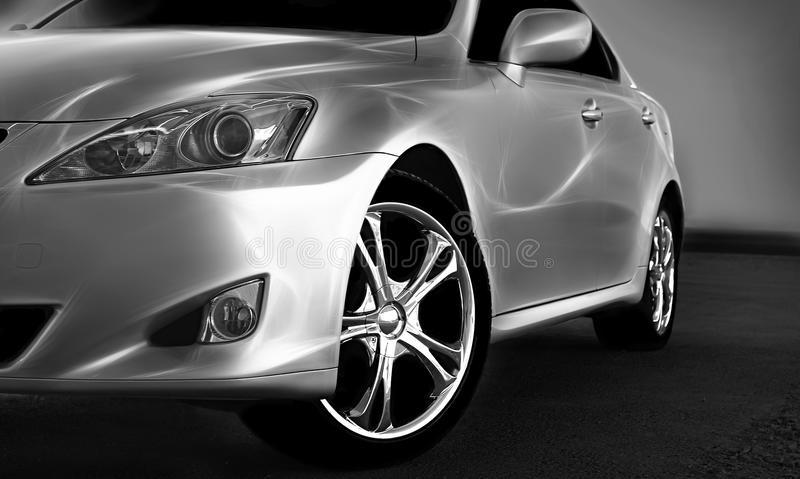 Download Sport car stock image. Image of chrome, bright, reflect - 17762901